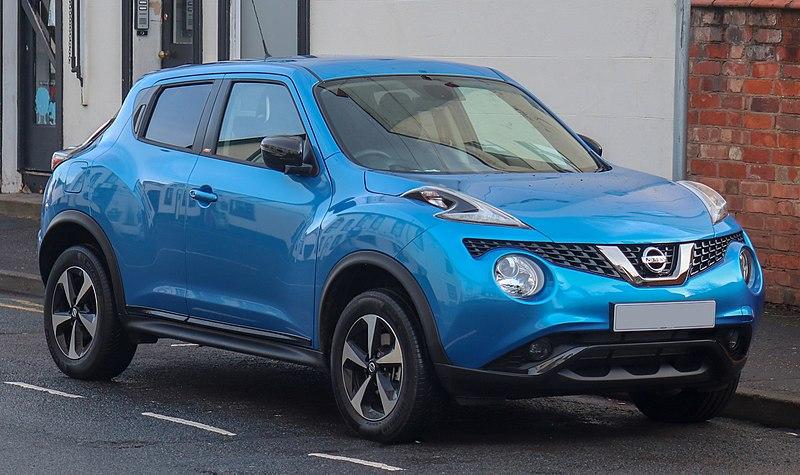 Używany Nissan Juke najpopularniejszym modelem aut firmowych w Poznaniu